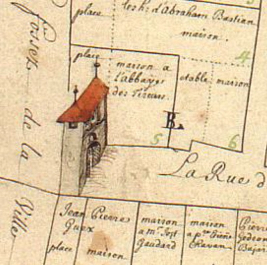 plan ancien de lutry